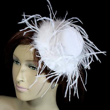 Kristal / Tüy / Kumaş  -  Tiaras / Şapkalar 1 Düğün / Özel Anlar / Parti / Gece Başlık