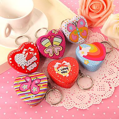 Syntymäpäivä / Vauvasuihku Puolue suosii ja lahjat - Favor Container Tinalaatikot Puutarha-teema / Klassinen teema / Heart