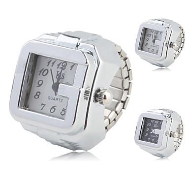 Γυναικεία Ρολόι Δαχτυλίδι Χαλαζίας Καθημερινό Ρολόι κράμα Μπάντα Αναλογικό Βίντατζ Μοντέρνα Ασημί - Λευκό Μαύρο Ενας χρόνος Διάρκεια Ζωής Μπαταρίας / SSUO SR626SW