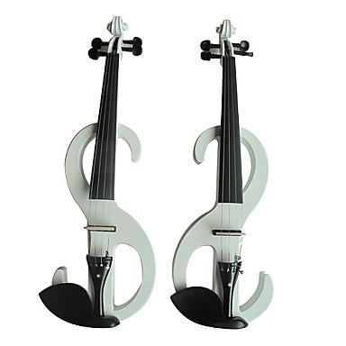 4분의 4 솔리드 가문비 나무 전기 바이올린 (멀티 컬러)