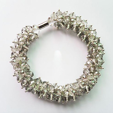 Luxurious Swarovski Crystal Beaded Bracelet (More Colors)