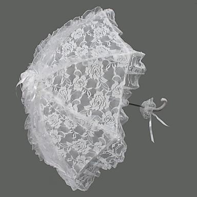 s rukojetí ve tvaru háčku Svatební Deštník Deštníky 72 cm (cca 28,4