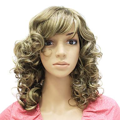 Synteettiset peruukit Classic Synteettiset hiukset Peruukki Naisten