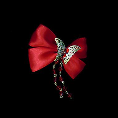 Satin Hair Pin Headpiece Wedding Party Elegant Classical Feminine Style