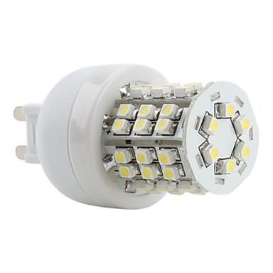 5500 lm G9 LED Mısır Işıklar T 48 led SMD 3528 Doğal Beyaz AC 220-240V