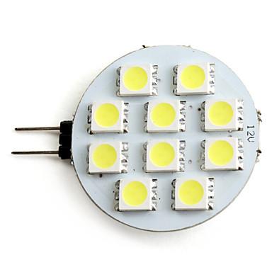 2 Вт. 160 lm G4 Точечное LED освещение 10 светодиоды SMD 5050 Естественный белый DC 12V