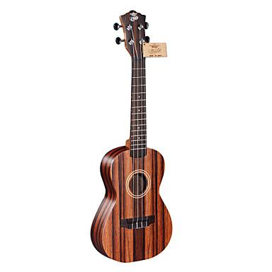 ella - (uk-2801b) di alta qualità ukulele concerto ebano