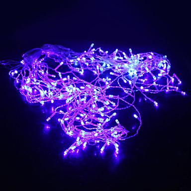 5m Dizili Işıklar 200 LED'ler Dip Led Mavi Parti / Dekorotif / Tatil 220-240 V 1pc / IP44