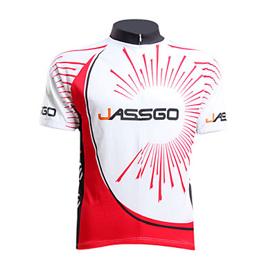 Jassgo - tricou de 100% din poliester cu mânecă scurtă pentru bărbați
