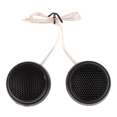 1000w diffusori di plastica per sistema audio stereo dell'auto, nero (coppia)