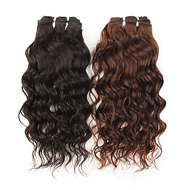 14 Inch Curly Brazilian Remy Hair Weave Hair Extension