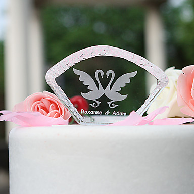 Kakkukoristeet Puutarha-teema Loma Klassinen teema Wedding Materiaali Kristalli Party Juhlat kanssa Kyllä