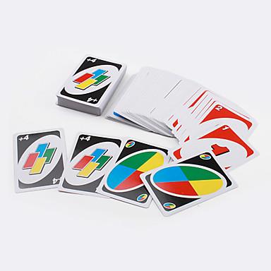 UNO Bretsspiele Kartenspiele UNO Freunde Familie Kartonpapier Jungen Geschenk