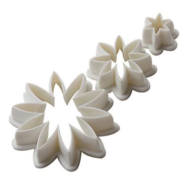 Bakeware-työkalut Muovi Ekologinen / Ystävänpäivä / DIY Kakku / Cookie / Cupcake paistopinnan