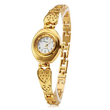 Dame Armbåndsur Quartz Bånd Hjerteformet Elegante Guld