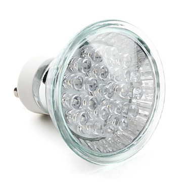 1.5W GU10 LED Spotlight MR16 21 Dip LED 40 lm Blue Decorative V