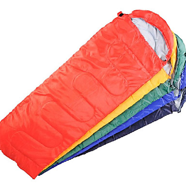 Shengyuan une personne 1.8m-2.0m sac de couchage en coton creux (jaune / bleu / vert / rouge)