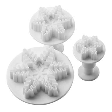 Backwerkzeuge Kunststoff Weihnachten / Heimwerken Kuchen / Plätzchen / Cupcake 3 Stück