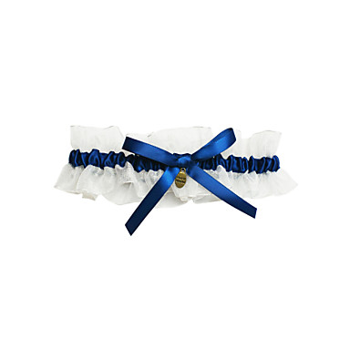 Delicate Satin With Bowknot Wedding Garter