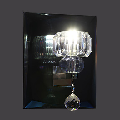 Duvar ışığı Uplight Duvar lambaları 110-120V 220-240V Birleştirilmiş LED Modern/Çağdaş Krom