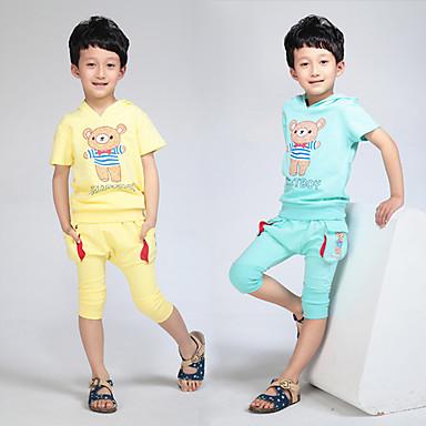 barn sommer t skjorte bukse