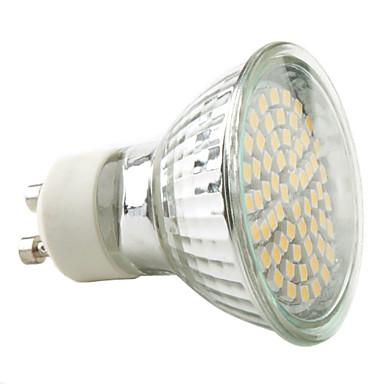 billige Elpærer-1pc 3.5 W LED-spotpærer 300-350lm E14 GU10 E26 / E27 60 LED perler SMD 2835 Varm hvit Kjølig hvit Naturlig hvit 220-240 V