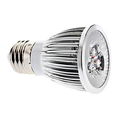 3000 lm E26/E27 Spoturi LED MR16 3 led-uri COB Intensitate Luminoasă Reglabilă Alb Cald AC 220-240V