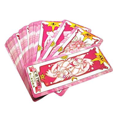 Altri accessori Ispirato da Altro Cardcaptor Sakura Sakura Kinomoto Anime Accessori Cosplay Scheda Carta Per donna
