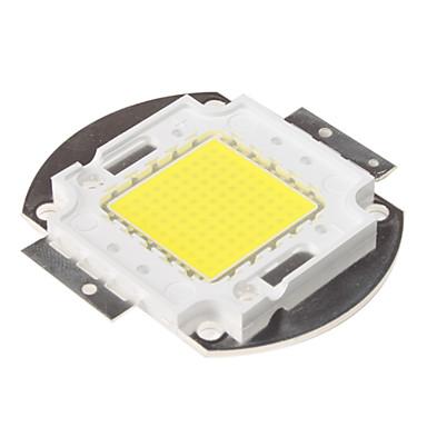 Diy 100 w 8000-9000lm 6000-6500 k doğal beyaz ışık entegre led modülü (33-35 v)