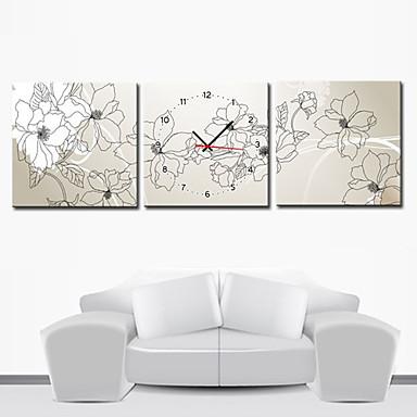 12 24 moderno orologio da parete stile floreale in for Ikea orologio parete