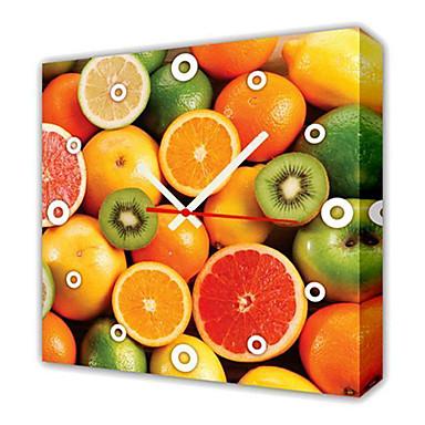moderní styl ovoce nástěnné hodiny v plátně