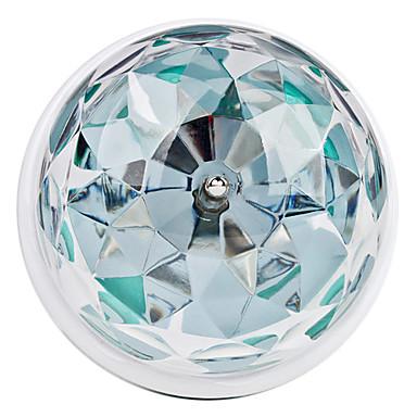 270lm E26 / E27 LED-pallolamput 3 LED-helmet Teho-LED Ääniaktivoitu RGB 85-265V / # / #