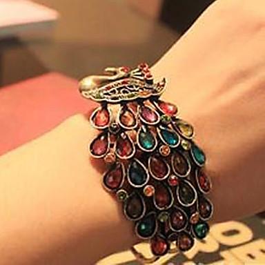 bracelete das mulheres de diamante do vintage