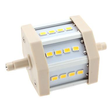 3000 lm R7S LED-kolbepærer T 12 leds SMD 5630 Varm hvid AC 85-265V