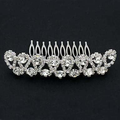 Žene Umjetno drago kamenje Legura Glava-Vjenčanje Special Occasion Kosa Combs