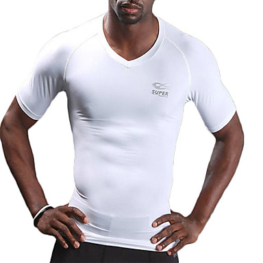 Super Featuring-Cool Men's V-neck Short Sleeves T-shirt