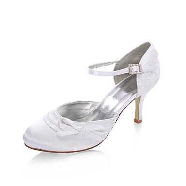 DELA - Højhælede sko Bryllup Satin