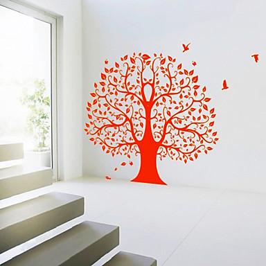 큰 나무 벽 스티커