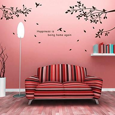 abstracto bot nico pegatinas de pared calcoman as de On calcomanias para paredes decorativas