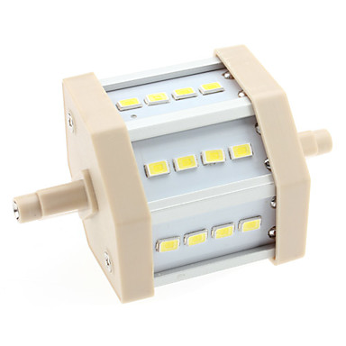 Lampadine a pannocchia 12 SMD 5630 R7S 6 W 600 LM 6000K K Bianco AC 85-265 V