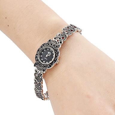 Damen Armband-Uhr Japanisch Quartz Band Analog Retro Modisch Schwarz - Silber Ein Jahr Batterielebensdauer / SSUO SR626SW