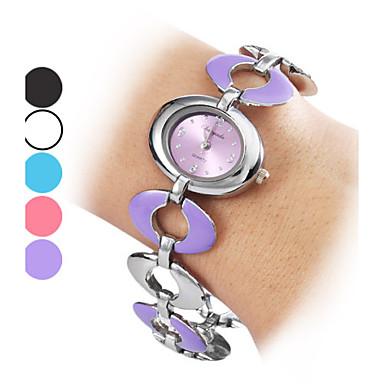 Women's Alloy Analog Quartz Bracelet Watch (Multi-Colored) Cool Watches Unique Watches