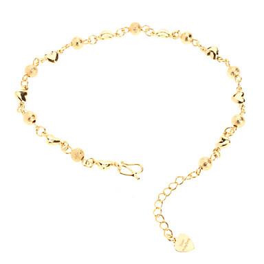 Pentru femei Lanț 18K Placat cu Aur Bijuterii Pentru Nuntă Zilnic