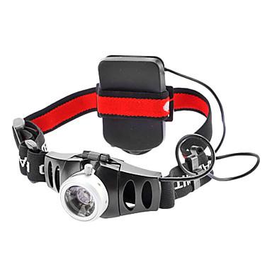 Čelovky LED 200lm 2 Režim osvětlení Zoomovatelné / Nastavitelné zaostřování Cyklistika
