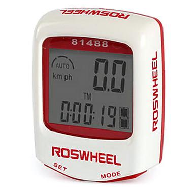 ROSWHEEL LCD à prova d'água 14 Funções com fios do computador da bicicleta 81488