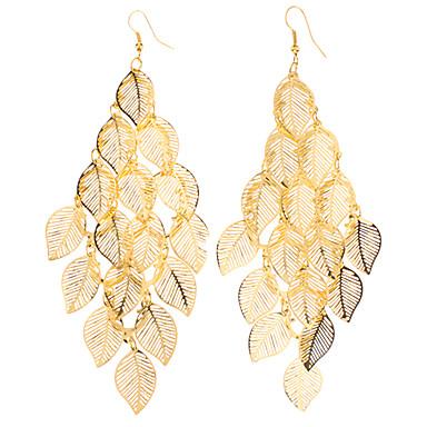 Dámské Visací náušnice Slitina Leaf Shape Šperky Párty