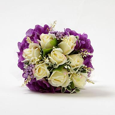 Flori de Nuntă Buchete Nuntă Satin / Bumbac 11.02