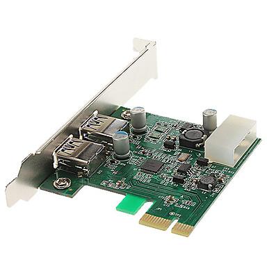 High Speed USB 3.0 2 ports PCI-E Card