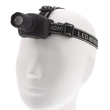 Osvětlení LED svítilny / Čelovky LED 1000 Lumenů 3 Režim Cree XM-L T6 AAANastavitelné zaostřování / Voděodolný / Ultra lehké / Kompaktní