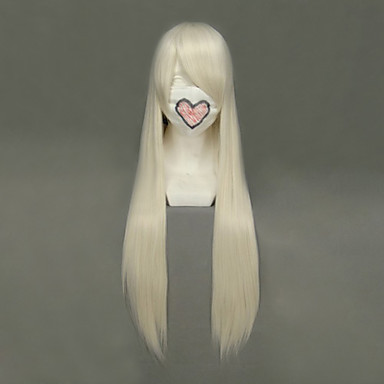Cosplay Wigs Chobits Chii Anime Cosplay Wigs 80 CM Heat Resistant Fiber Women's